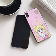 Funny Cute Cartoon  Sailor Moon Pretty Girl Phone Case For Xiaomi mi 9 8 se lite 9t pro cc9 redmi note7 redmi7 6 a TPU Cover