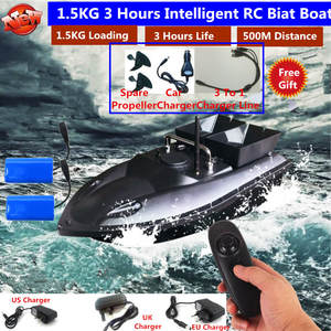 Boat Fish-Finder Remote-Control RC 500m Auto with Eu-Charger 180mins Distacne