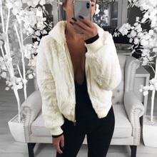 2019 New Winter Warm Hooded Jacket Casual Long Sleeve Female Hoodies Sweatershirt Autumn Solid Soft Fleece Women Coat