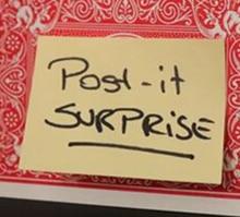 Post it surprise by sonny boom  magic tricks (magic instruction