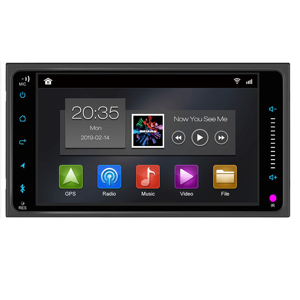 Autoradio <font><b>2</b></font> <font><b>din</b></font> Android 9.0 Car DVD Multimedia Player For Toyota Land cruise <font><b>100</b></font> <font><b>200</b></font> prado120 150 RAV4 COROLLA Camry yaris Hilux image