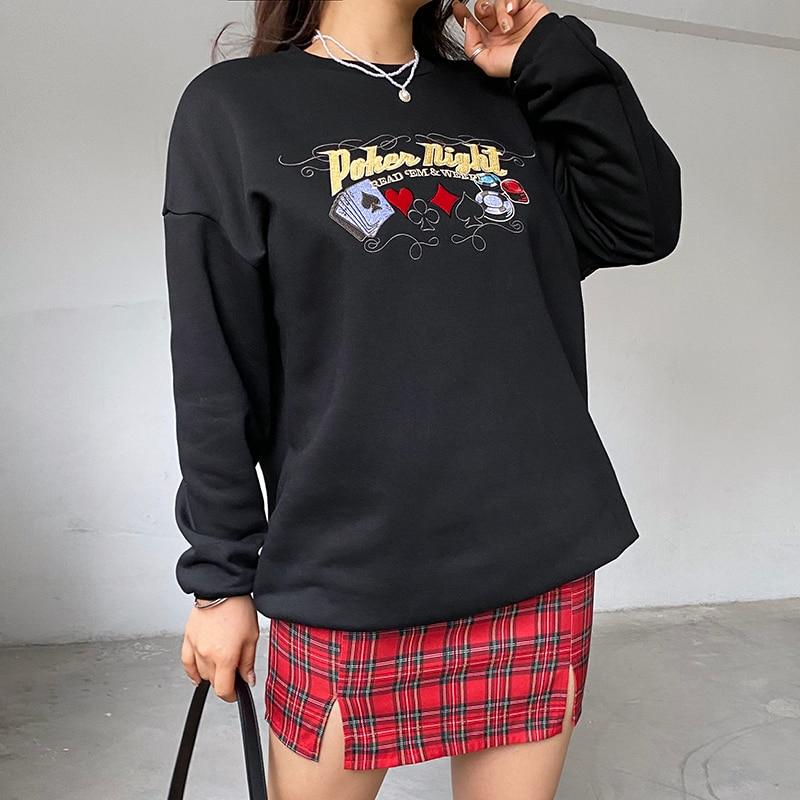 Embroidery Sweatshirt  (2)