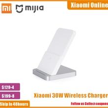 2020 nouveau 100% Original Xiaomi Vertical refroidi par Air chargeur sans fil 30W Max avec Flash charge pour Xiaomi Mi Smartphone
