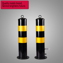 Подгонянная дорога стальная труба предупреждающая колонна столбик барьер защита безопасности предупреждение обочина изоляция дорога стоянка дорога