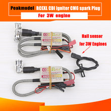 RCEXL CDI Single Twin Ignition With Sensor Kit Cm6 90 Degree 6v-12v For 2008 After The 3W Engine