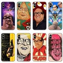 Caixa Do Telefone Para Samsung Galaxy S10E V2 Danny Devito S10 Lite S9 S8 S7 S6 borda Mais S5 S4 S3 Mini Note 10 9 8 5 4