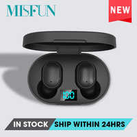 TWS Bluetooth Earphone 5.0 True Wireless Headphones With Mic Handsfree AI Control For xiaomi Redmi Earphone Stereo Headset