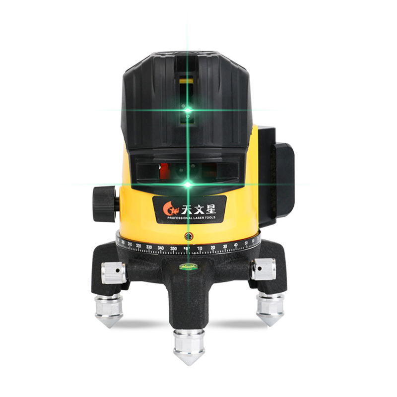 Green Light Spirit Level Laser 2 Lines Level Water Meter High Precision Glare Infrared Automatic Portable Hit The Line Caster