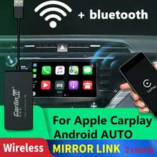 Carlinkit Carplay A3 ワイヤレス apple の Carplay Adaptador Android の自動ドングル車再生 Iphone USB 車 WIFI Bluetoot ミラーリンク(China)