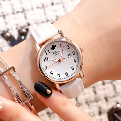 Детские часы Disney, модные повседневные кварцевые наручные часы с Микки Маусом для мальчиков и девочек