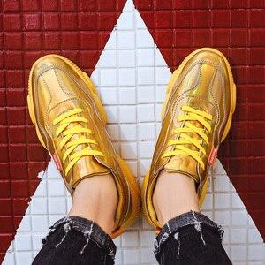 Image 4 - Baskets respirantes en maille pour hommes, chaussures De loisirs, tennis, 2020