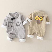 Ircomll повседневные комбинезоны для малышей Вельветовая куртка