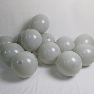 Image 2 - 125 adet 5/10/18 inç macarons gri balon altın 4d balon garland seti düğün dekorasyon doğum günü partisi