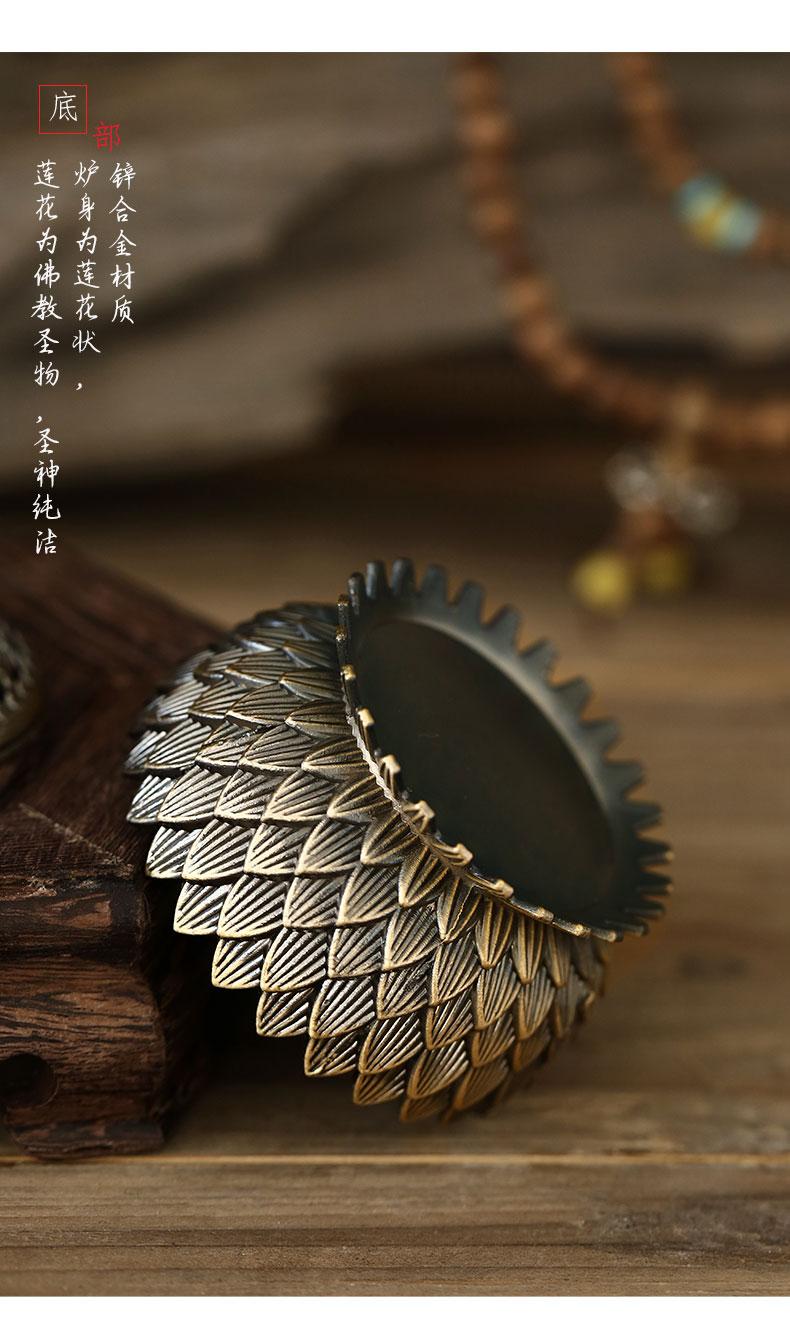 Chinês de luxo queimador incenso sala estar