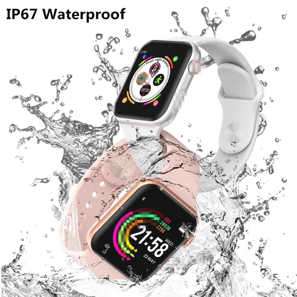 2019 IWO 8 Lite Đồng Hồ Thông Minh IP67 Chống Nước Series 4 Iw8 Đồng Hồ  Thông Minh Smartwatch Điện Tâm Đồ Thể Thao Nhịp Tim Cho IOS Android PK IWO  9 10 Digital Watches