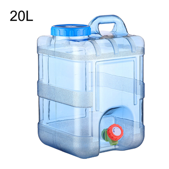 Water Container Food Grade Safety Water Tank Bucket Camping Picnic Driving Kettle With Faucet Portable Outdoor Large Capacity