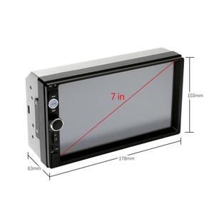 """Image 3 - Podofo 2 din Auto Radio 7 """"Schermo di Tocco di HD Mirrorlink Auto Radio Lettore Bluetooth Car Stereo Multimedia MP5 Videocamera Vista Posteriore"""