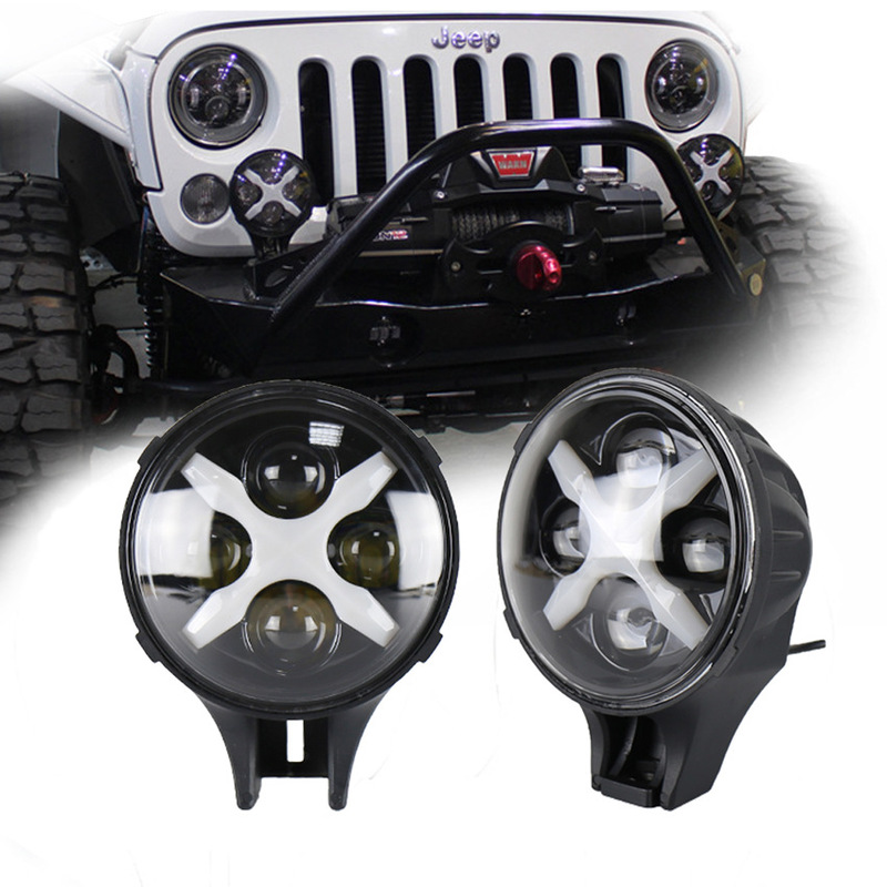 The Vectra Line 6 Inch Led Car Light X Days Lamp 60 W Jeep Wrangler Off-road Vehicles Before The Shoot The Light