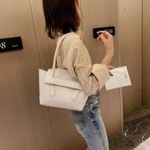 Fashion Woman Handbag PU Leather Youth Ladies Shoulder Bag Candy Colors Simple Waterproof Literary Style Light
