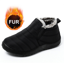 Winter Boots Women Winter Shoes Waterproof Ankle Boots For