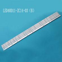 1set=4pieces for LE40F3000WX LK400D3HC34J Led backlight 11lamps JVC LT 40E71(A) LED40D11 ZC14 03(B) LED40D11 ZC14 01 30340011206