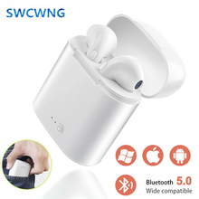 2019 i7s TWS Wireless Headphones Bluetooth Earphone In-ear Stereo Earbud Headset With Charging Box For iPhone Xiaomi huawei i7 mini double bluetooth earphone headphones stereo tws wireless headset phone charger in ear air pods earbud for apple iphone