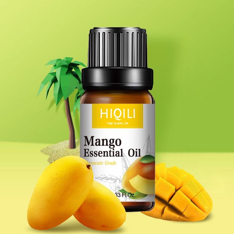 Mango Fragrance Oil 10ML Diffuser Aroma Essential Oil Strawberry Coconut Apple Watermelon Cherry Lemon Orange For Soap Candle