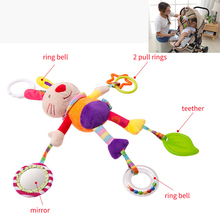 Toys Stroller Hanging-Bell New-Born Bell-Bed Plush-Rattle Gift Infant Styles
