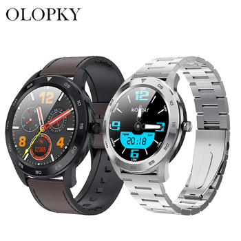 Smart Watch DT98 Full Screen Touch Bluetooth 1.3 inch Call Dial EEG Heart Rate Blood Pressure Monitor IP68 Waterproof Fitness