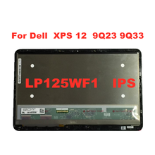 12.5 inch for Dell XPS 12 9Q23 9Q33 LCD display LP125WF1 touch digitizer LCD display FHD replacement 1920 * 1080P IPS assembly grassroot 15 6 inch lcd screen for lenovo legion y520 15ikbn fhd 1920 1080 ips matte replacement display panel page 8