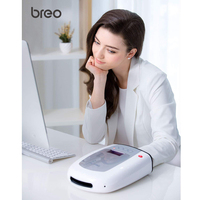 breo iPalm520 Hand Massager Electric Palm Finger Massager with Air Pressure Heat Compression and LCD Display for Women Beauty