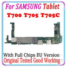 Oryginalny odblokować płyty głównej obwodów dla Samsung Galaxy Tab S 8 4 T700 T705C T705 WIFI elektroniczny układ logiczny test dobrej pracy tanie tanio LISFG Wewnętrzny For Samsung Tab S T700 T705 T705C WIFI 4G 100 Original Unlocked Disassemble Used Full QC Tested EU version