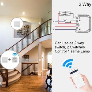 Image 5 - Tuya Smart Wfi Switch 16A 90V 240V Wifi Smart Switch Module Smart Home Autom Support External Switch Work With Alexa Google Home