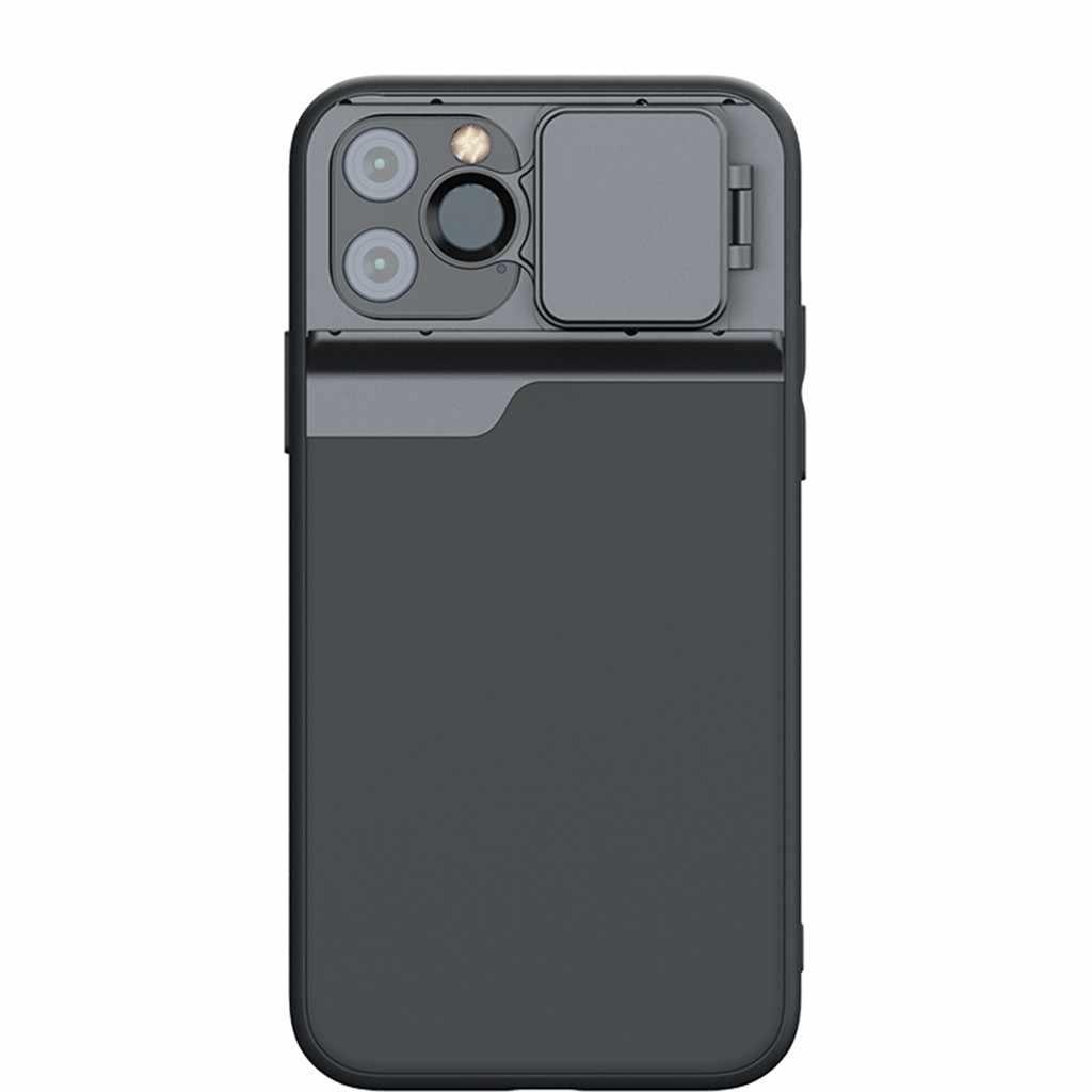 Ouhaobin טלפון מקרה כיסוי + 5 מצלמה עדשה עמיד למים עבור IPhone 11 פרו 5.8 אינץ מצלמה ותמונת אביזרי טלפון מקרה