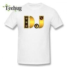 New Design DJ T-shirt Men Geek Summer For Male Pure Cotton Short Sleeve 100% t shirt Plus Size Arrival