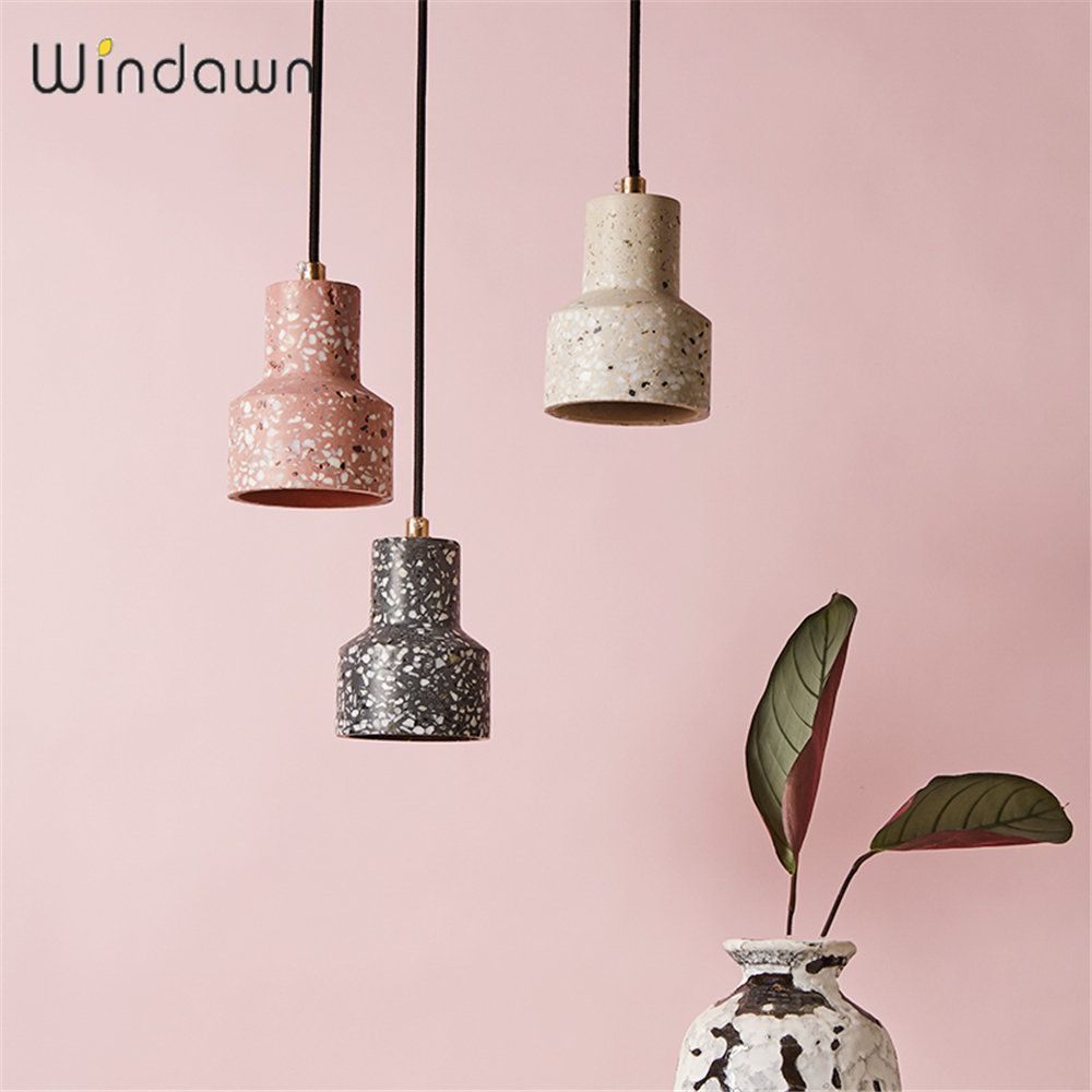 Windawn Nordic Pendant Lights Terrazz Ceiling Lamp Simpl Hanging Lamp Classics Hotel Bedroom Living Room Office For Ceiling Lamp