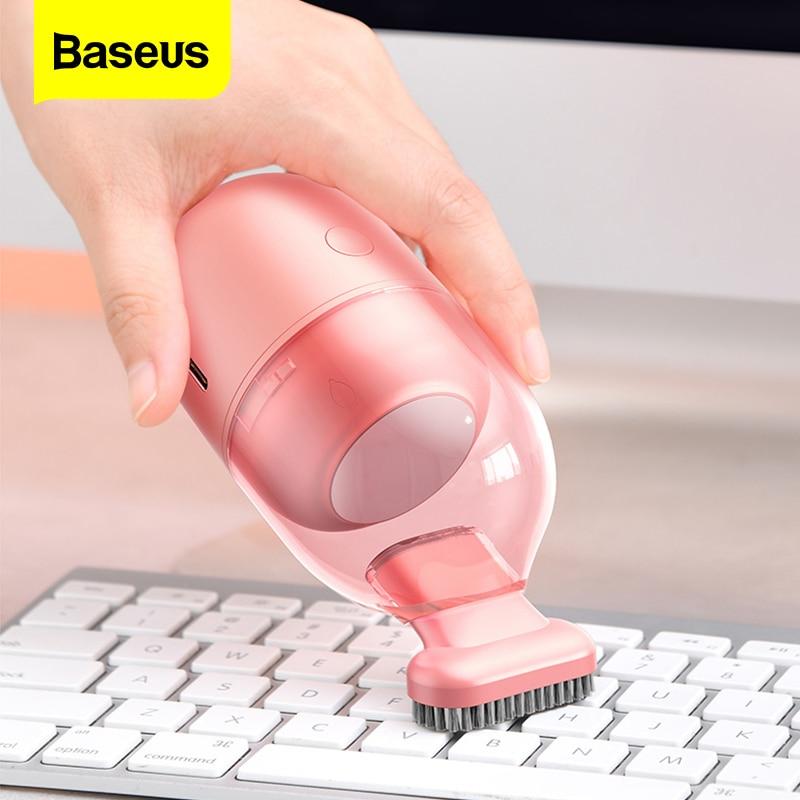 Автомобильный мини пылесос Baseus, портативный беспроводной ручной пылесос для домашнего рабочего стола, беспроводной автоматический пылесос| |   | АлиЭкспресс - Товары для домашнего офиса