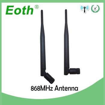 Wholesale 20pcs 868MHz 915MHZ antenna 5dbi SMA Male Connector GSM Antenna 868 MHz 915 MHz antena gsm white small antenne Lorawan датчики сигнализации homi security 868 7 gsm hg008