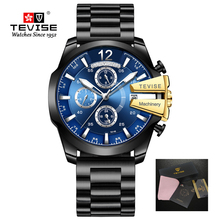 Tevise Luxury Brand Watch Men Automatic Mechanical Watches Male Sports Watches Self-Wind Waterproof Gold Clock Relogio Masculino new pagani design top brand luxury men mechanical watches sports skeleton automatic self wind waterproof watch relogio masculino