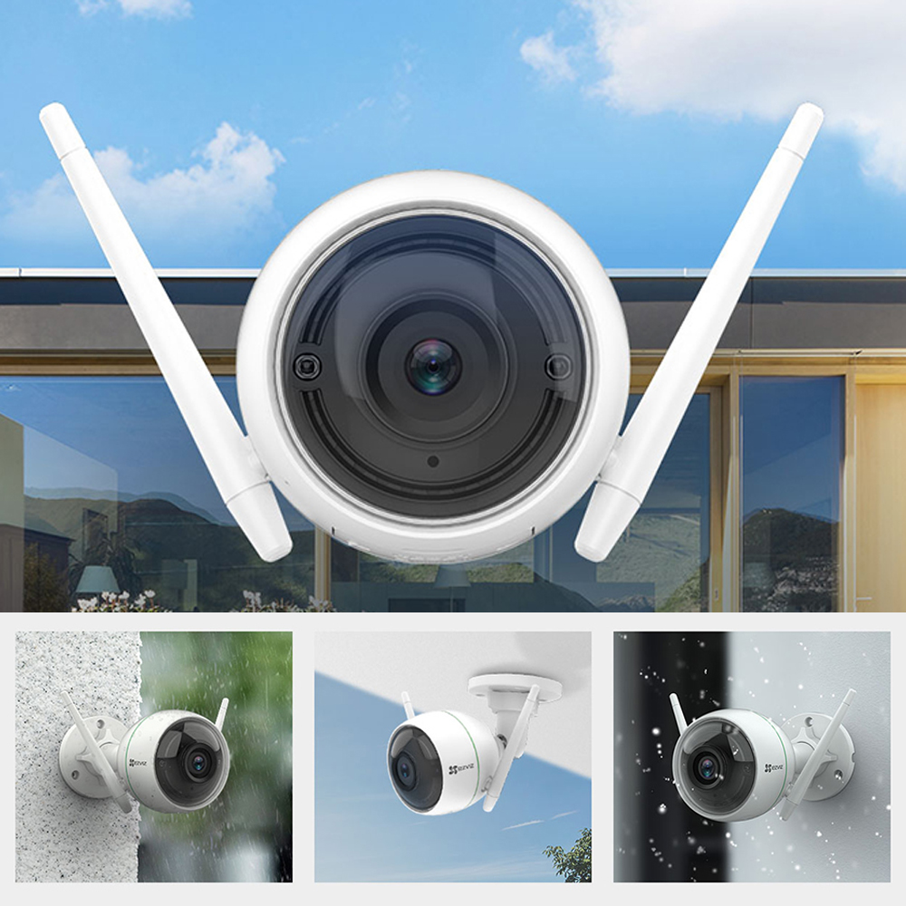 EZVIZ HIKVISION wifi <font><b>IP</b></font> <font><b>camera</b></font> outdoor security <font><b>camera</b></font> waterproof HD <font><b>1080P</b></font> 30m High frame night vision <font><b>camera</b></font> <font><b>de</b></font> <font><b>seguran</b></font>ç<font><b>a</b></font> C3WN image