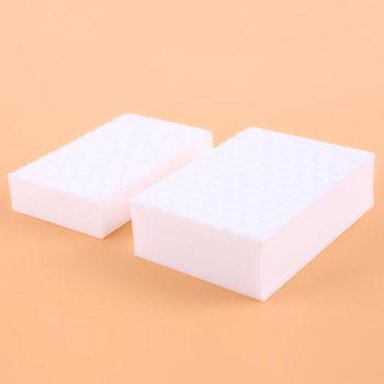 Białe gąbki do mycia druciana gąbka magiczne szczotki do mycia naczyń odkażanie gąbki do wycierania narzędzia do czyszczenia kuchni tanie i dobre opinie CN (pochodzenie) JG978811 Ekologiczne Zaopatrzony KİTCHEN Sponge magic wipe