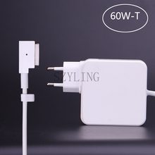 60W Magnetic T-tip replacement Power Adapter Charger for Apple Macbook Air Pro 13″ A1425 A1435 A1502(Late 2012)