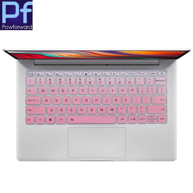 ل شاومي Mi دفتر Redmibook 13 2019 سيليكون لوحة مفاتيح الكمبيوتر المحمول حامي غطاء الجلد