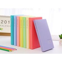 120 Pockets Fashion Portable Large Capacity Candy Color Photo Album Photocard Book Card Stock Lomo Card Holder Organizer