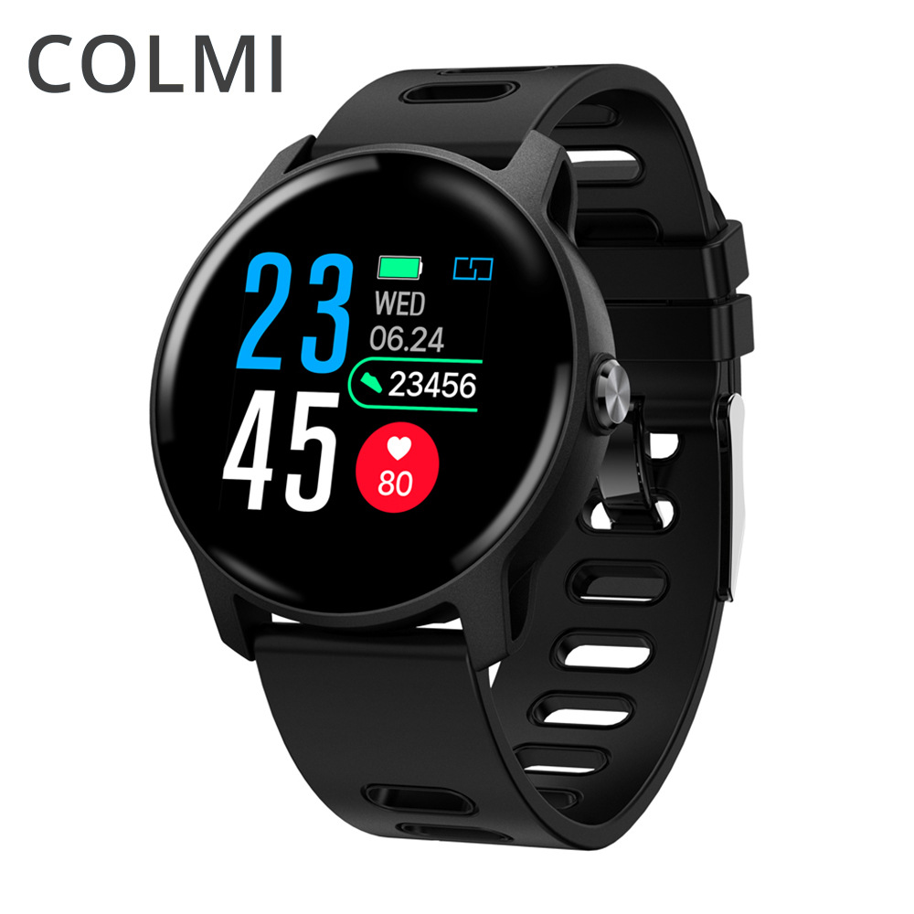 COLMI S08 Smart Watch Information Reminder Waterproof Sports Mode Tracker Heart Rate/Blood Monitoring Smartwatch for Android/iOS Smart Watches     - AliExpress