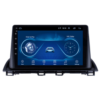 For Mazda 3 2014-2017 2 din Adroid 8.1 Car Radio Stereo FM WIFI GPS Navigation Multimedia Player head unit image