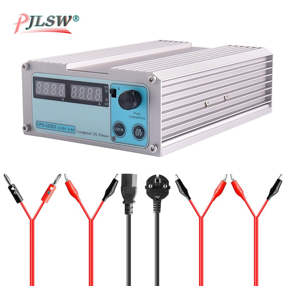 CPS 3205II DC Power Supply Adjustable Digital Mini Laboratory 0.001A 32V 5A 0.01v Voltage