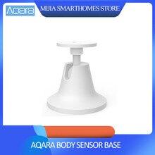 Originale xiaomi Aqara di Base del sensore del corpo umano, lavoro con mi jia del sensore del corpo umano motion sensor per xiaomi mi casa intelligente kit di casa