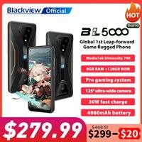 Blackview BL5000 Dual 5G Smartphone IP68 Waterproof 30W Fast Charge Rugged Gaming Phone 8GB+128GB 4980mAh Global Mobile Phone 1