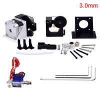 Anti leakage Tool Accessories Extruder Kit Mini Stepper Motor Anti clogging Full Set Parts V6 Heatproof For 3D Printer 1.75/3.0